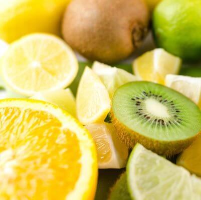 Vitamine C Calcium ascorbaat en ascorbyl palmitaat