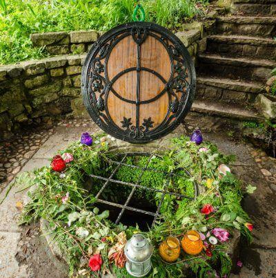 Chalice Well water Glastonbury